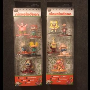 Nano Metalfigs Nickelodeon Metal Die-Cast Figures